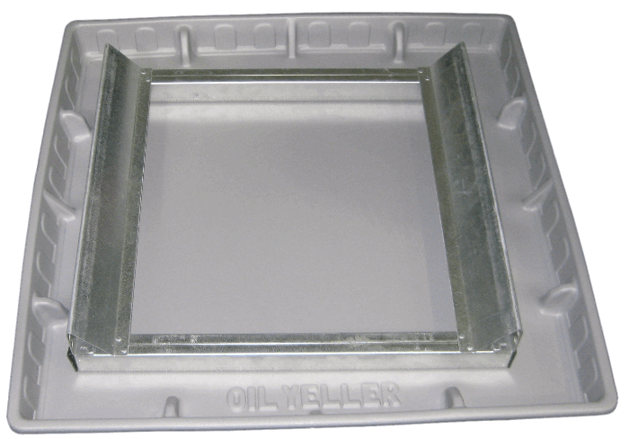 Square Tray with Frame